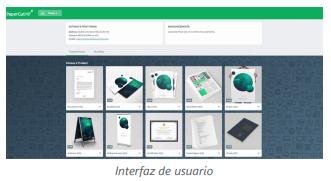 PaperCut v18 Interfaz usuario